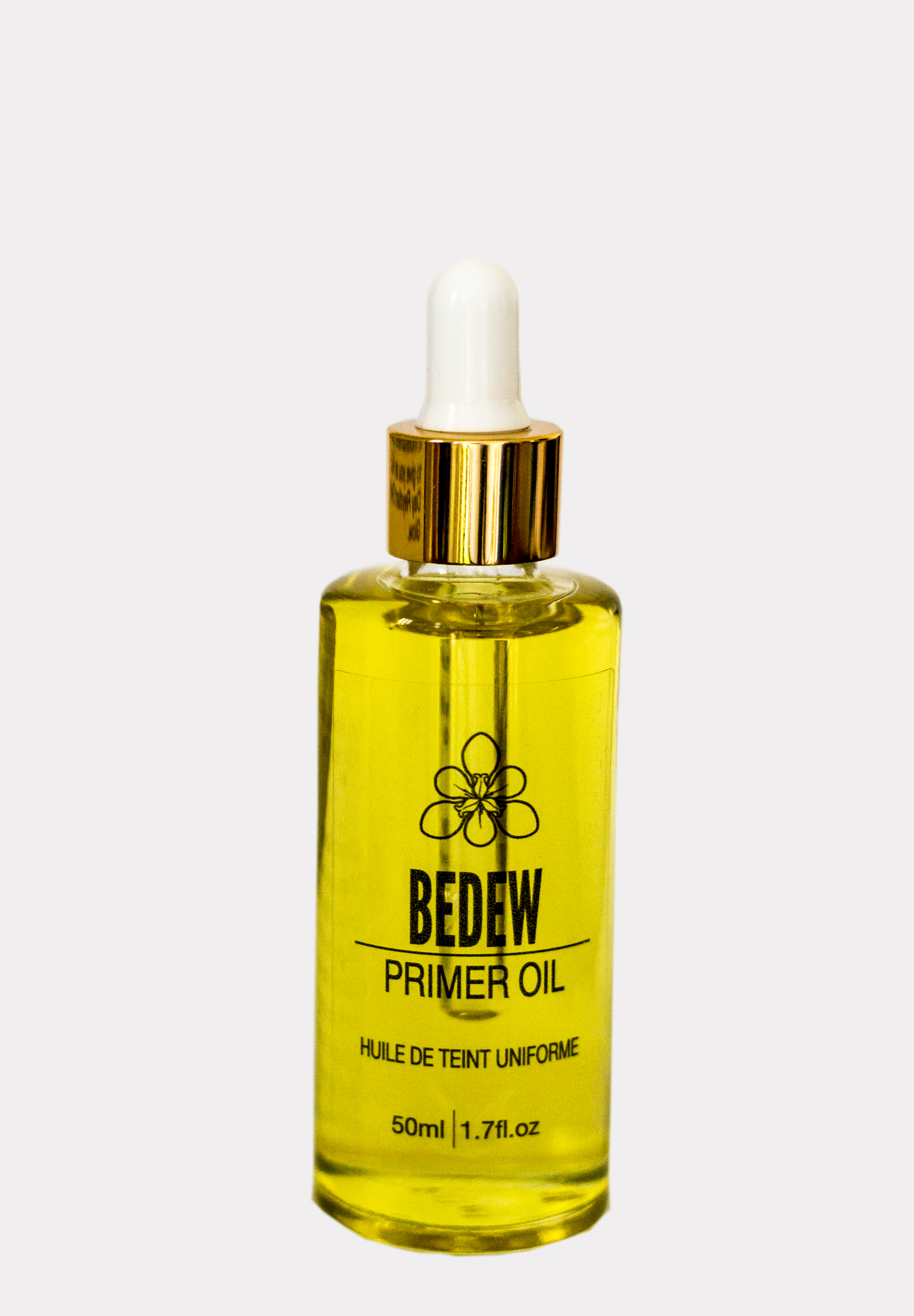 Facial Primer Oil that prepares your skin for flawless foundation and a beautiful dewy all day glow